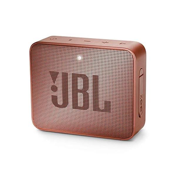 JBL Go 2 - Mini enceinte Bluetooth Portable - Étanche pour Piscine & Plage Ipx7 - Autonomie 5hrs - Qualité Audio JBL - Rose Foncé 1