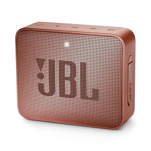 JBL GO 2 – Altavoz inalámbrico portátil con Bluetooth, resistente al agua (IPX7), hasta 5h de reproducción con sonido de…