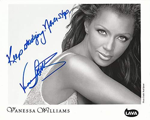 Vanessa Williams Authentic Autograph 8x10 photo