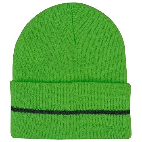 Unisex Winter Skull Cap, JIBIL Insulated Cuffed Beanie Caps for Winter Flo (Flo Halloween)