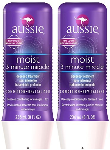 Aussie Moist 3 Minute Miracle Moist Deeeeep Liquid Conditioner - 8 oz - 2 pk ()