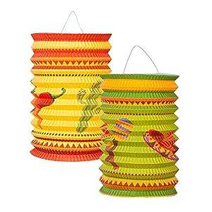 Boland- Lanternes Mexicaines, 2 Pezzi, Multicolore, BOL54403 1 spesavip