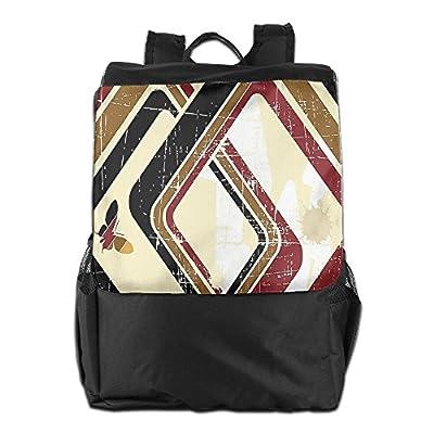 XIANGXIANG SHOP Floral Flowers Pattern Colorful Fashion Unisex Casual Popular Outdoor Sling Bag Messenger Bag Shoulder Bag