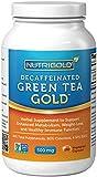 #1 Green Tea Extract - Green Tea GOLD, 500 mg, 180 Vegetarian Capsules - Decaffeinated Green Tea Fat Burner Supplement for Weight-loss (98% Polyphenols, 50% EGCG)