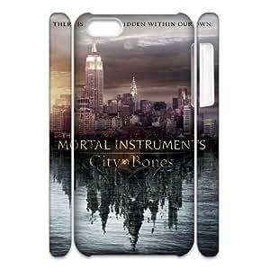 YUAHS(TM) Unique Design 3D Cell Phone Case for Iphone 5C with The Mortal Instruments City of Bones YAS344414