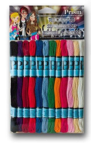 DMC Prism Craft Thread Pack 10yd 36/Pkg