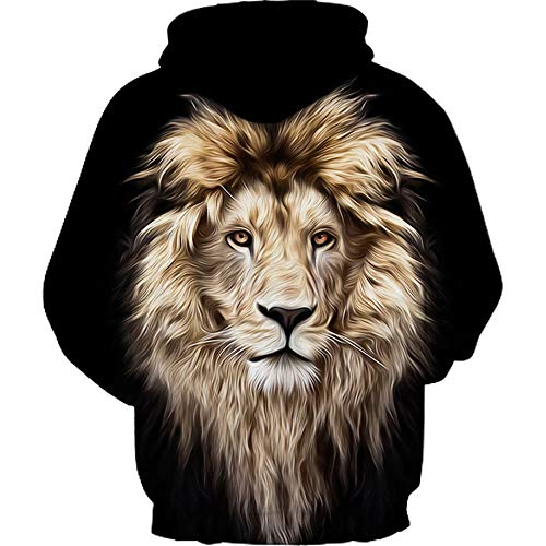 Black Winter 3D Print Men's Sweatershirt Hooded Long Autumn Men Jackets Sleeve a QUINTRA Hoodie xFnXR