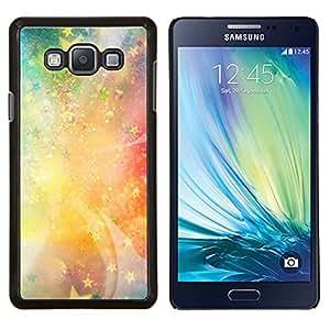 """Be-Star Único Patrón Plástico Duro Fundas Cover Cubre Hard Case Cover Para Samsung Galaxy A7 / SM-A700 ( Estrellas Universo luz de neón Galaxy Pintura"""" )"""