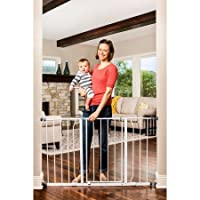Regalo Easy Open 50 Inch Wide Baby Gate, Pressure Mount, Great for Kids and P...