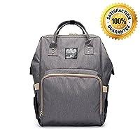 Baby Diaper Bag Backpack, FLYMEI Multi-Function Waterproof Travel Bag Nursing...