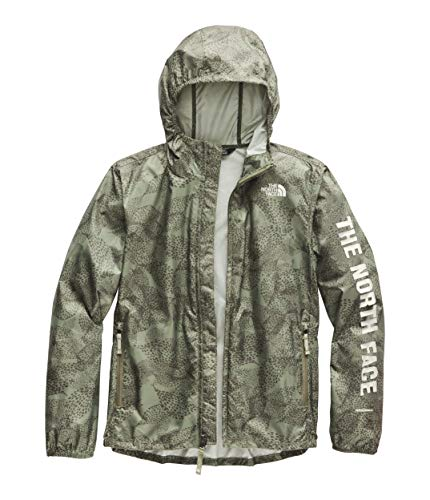 The North Face Youth Novelty Flurry Wind Hoodie, Four Leaf Clover Super Bloom Print, Size XL ()
