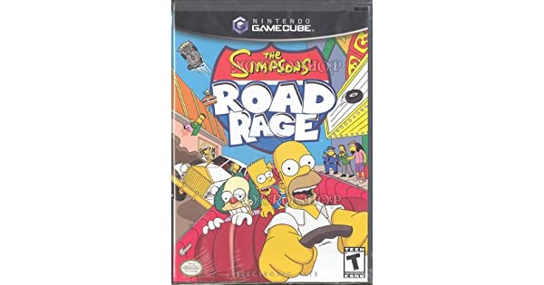 Amazon com: The Simpsons Road Rage: Video Games