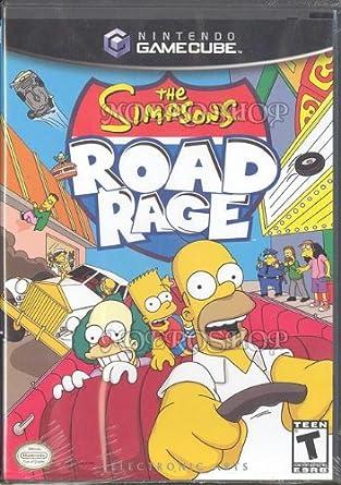 Amazon com: The Simpsons Road Rage: Video Games