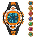 Siniya Kids Watch Quartz Watch Waterproof Swimming Sports Watch Boys Girls Led Digital Watches for Kids Watch