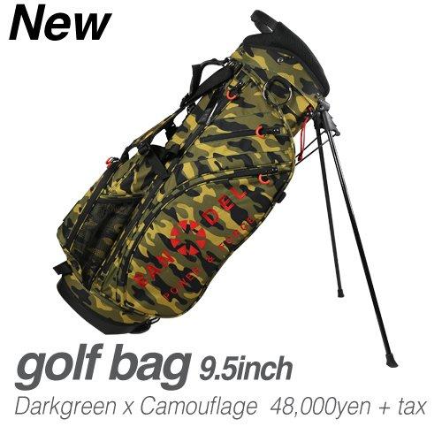 BANDEL golf bag B073LXR8GF  カモダークグリーン