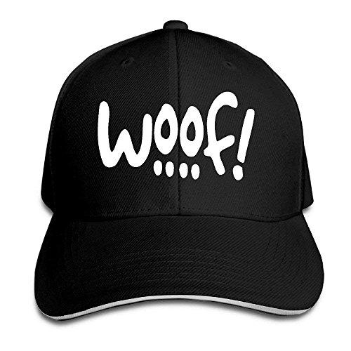 (WOOF! DOG THEMED Adjustable Baseball Cap)