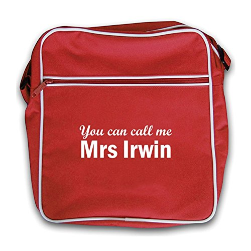 Irwin Flight Mrs Bag Red Call Red Retro Me You Can 6xIPw1vq