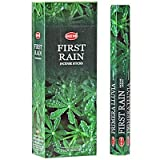 First Rain – 20 Stick Hex Tube – HEM Incense