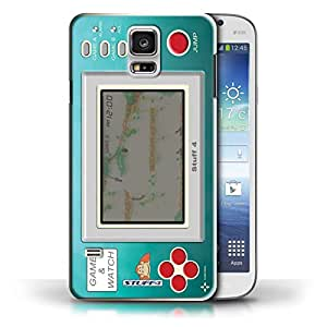 iChoose carcasa protectora/diseño/Skin para Multivariation/duro Slim manga teléfono Protector parachoques Carcasa diseño Retro de mando de consola/colección, plástico, Donkey Kong JR, Galaxy S5 / SV