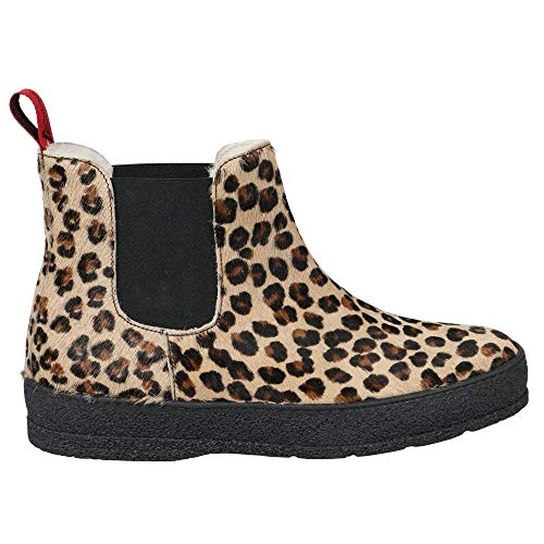 Switzerland Scuol Leopard Ankle Boot Ammann of 51nxwqA