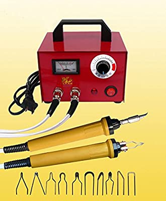 TOPCHANCES 110V Gourd Wood Pyrography Crafts Tool Multifunction Pyrography Machine 100W