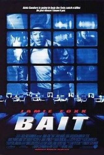 BAIT - 27x40 D/S Original Movie Poster One Sheet 2000 JAMIE FOXX (Bait Foxx Jamie)