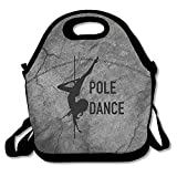 Pole Dance Large & Thick Insulated Tote Bayfield Bags Paper Lunch Bag For Men Women Kids Art Of Lunch