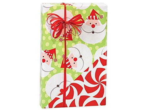 Santa Peppermint (revers) 24''x417' by Nas