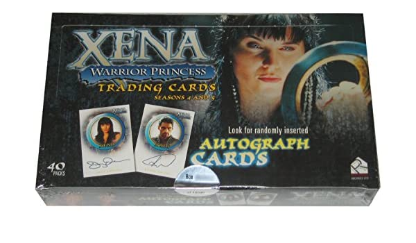 Xena: Warrior Princess Trading Cards Seasons 4 & 5 Caja de 40 ...