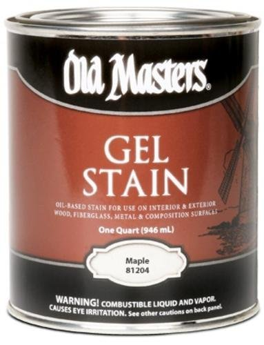 Stain Colonial Maple (Old Masters 24983 81204 Gel Stain Maple Oil-Based)