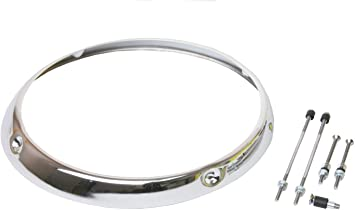 URO Parts 911 631 102 04 Headlight Rim Chrome H1 Type