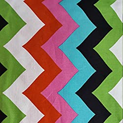 Azalea Zig Zag Brother Sister Design Studio Chevron Precut Fabric (1 Yard)