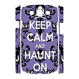 Haunted Mansion Discount Personalized 3D Cell Phone Case for Samsung Galaxy S3 I9300, Haunted Mansion Galaxy S3 I9300 3D Cover