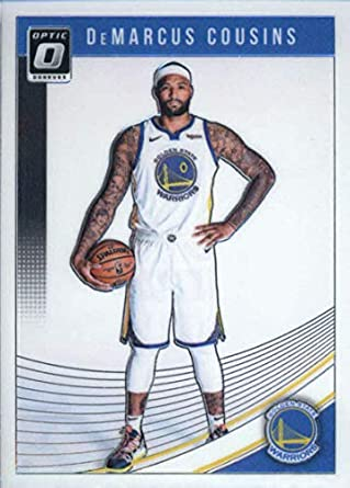 separation shoes adaaf bb443 Amazon.com: 2018-19 Donruss Optic #42 DeMarcus Cousins ...