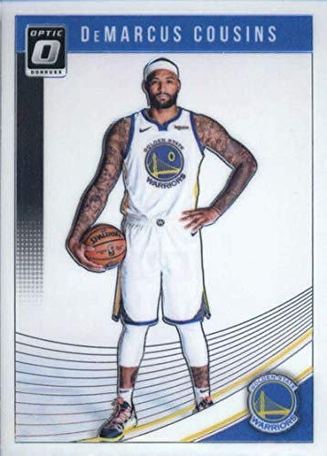 7be95b11ba3e Amazon.com  2018-19 Donruss Optic Basketball  42 DeMarcus Cousins Golden  State Warriors Official NBA Trading Card (made by Panini)  Collectibles    Fine Art