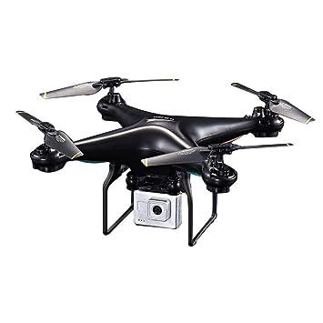 LXWM Drone RC con Cámara 720P HD 0.3W Blanco Hover Helikopter Dron ...