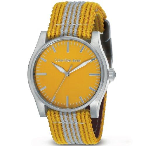 Calvin Klein Jeans Men's K5711139 Yellow Variance Watch
