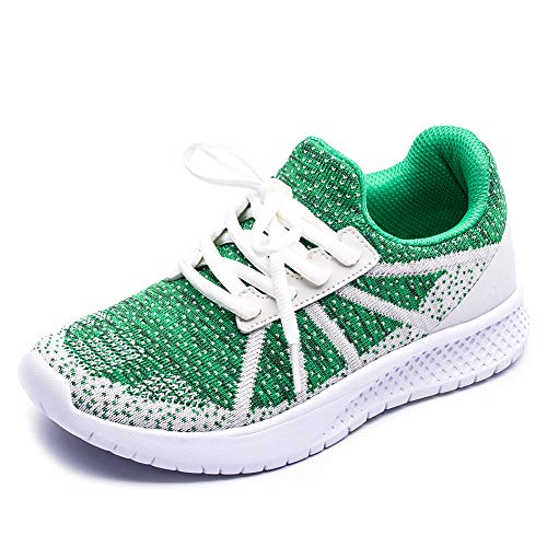 Kids Boys Girls Running Shoes Mesh Breathable Comfortable Lightweight Fashion Sneakers Athletic Walking Tennis Casual Shoes