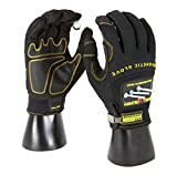MagnoGrip 002-672 Pro FingerGrip Magnetic Glove with Touchscreen Technology, X Large, Black