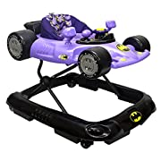 KidsEmbrace Batgirl Baby Activity Walker, DC Comics Car, Music and Lights, Purple, 5501BTG