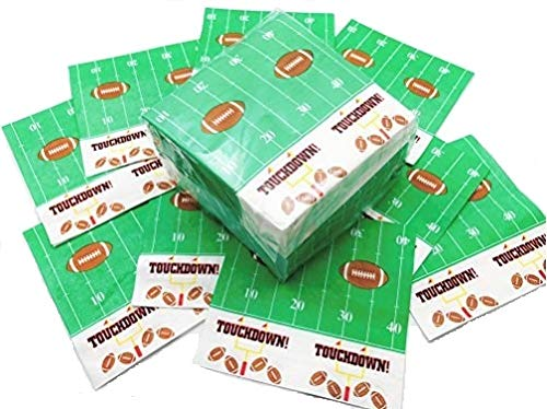 Oojami Touchdown Napkins Football Theme 13