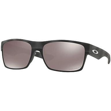 Amazon.com: Oakley Mens OO9189 TwoFace Square Sunglasses ...
