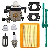 zama carburetor c1q - FitBest Carburetor with Air Filter for Stihl MM55 MM55C Zama C1Q-S202A Carb Replaces 4601-120-0600