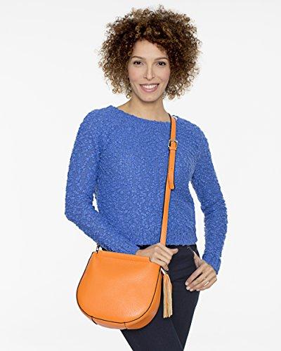 Capri Spacious and Bag Women Italian for Cross BARONI Model Functional Body MASSIMA Leather Bag 5zqBfwn