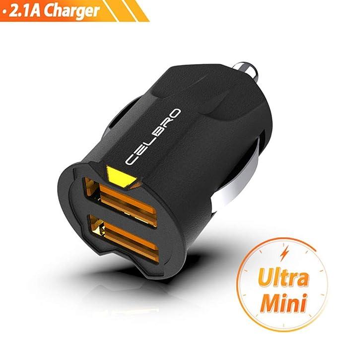 KAR Mini USB Cargador de Coche, Adaptador 2A Cargador de ...