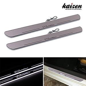 Amazon Com Kaizen Cadillac Srx Xts Illuminated Door Sill