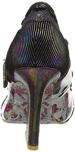Irregular Choice Rum Punchm, Zapatos de Tacón mujer Negro (Black Multi)