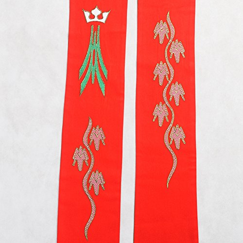 BLESSUME Priest Reversible Stole Embroidered Chasuble Stole by BLESSUME (Image #7)