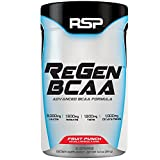 RSP Regen BCAA – Post Workout BCAA Powder, High Performance Supplement for Muscle Recovery & Endurance, Amino Acids, Fruit Punch, 30 Servings Review