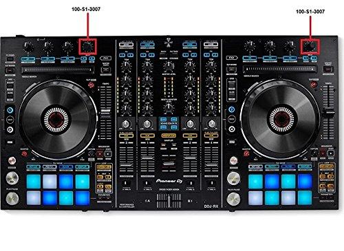 1x New Genuine Pioneer DJ Controller Beat Rotate Knob 100-S1-3007 100-S1-3007-HA For DDJ-RX